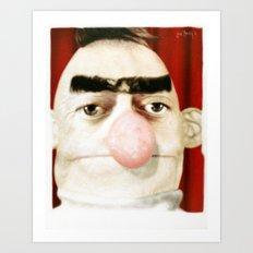 Photobooth Bert Art Print