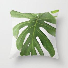 MONSTERA 3 Throw Pillow