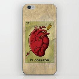 El Corazon iPhone Skin