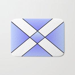 Saint andrew's cross 2- Bath Mat