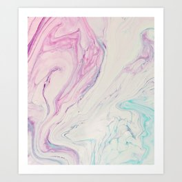 Marble No. 13 Art Print