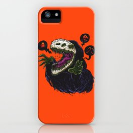 Grim Reapersaur iPhone Case