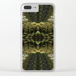 Tripping through the Woods Clear iPhone Case