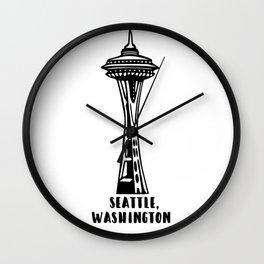 Seattle, Washington's Space Needle Wall Clock
