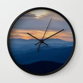 Blue Ridge Wall Clock