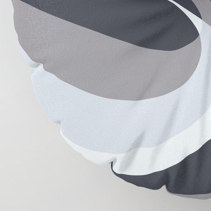 Inverted Wave Floor Pillow