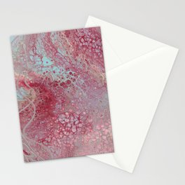 Cherry Blossom Marble Stationery Cards