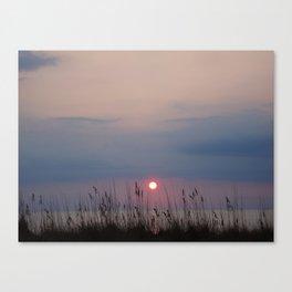 Sun Up Canvas Print