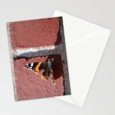 Butterfly :: Brick in the Wall Stationery Cards