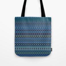 Vintage tribal aztec pattern Tote Bag