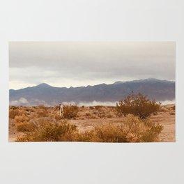 Vivid Cloudy Mountains Rug