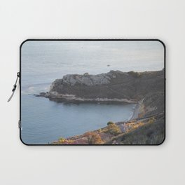 Pismo Beach Pirate's Cove view from Avila Ridge Hike Laptop Sleeve
