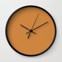 peru Wall Clocks featuring Peru by List of colors