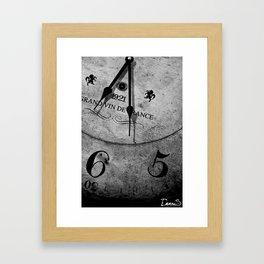 It's time Framed Art Print