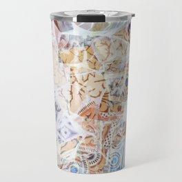 Mosaic of Barcelona IX Travel Mug