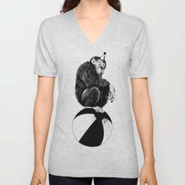 Chimp Unisex V-Neck
