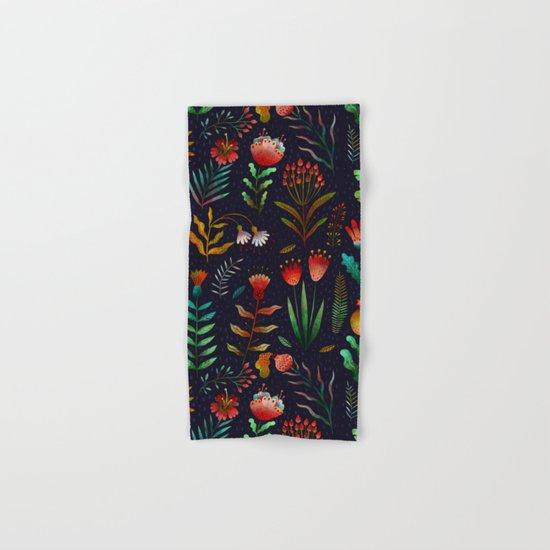 Bright flowers Hand & Bath Towel