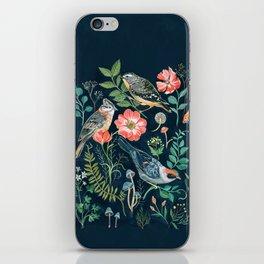 Birds Garden iPhone Skin