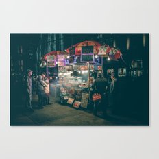 New york city Food Canvas Print