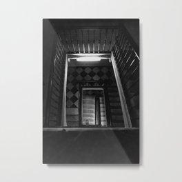 Looking Up - Barcelona Stairwell, Spain Metal Print