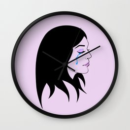 Bad Girls Cry Wall Clock