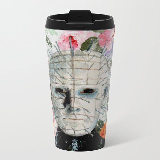 Lush Pinhead // Hellraiser Metal Travel Mug
