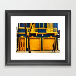 La Boca Framed Art Print