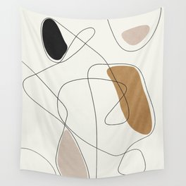 Thin Flow II Wall Tapestry