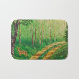 Lonely Time Bath Mat