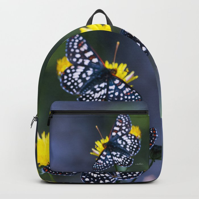 The Checkerspot Couple Backpack