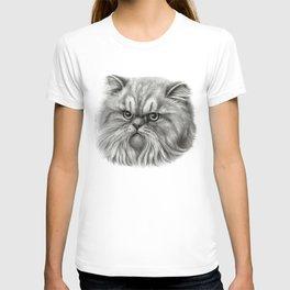 Persian Cat SK072 T-shirt
