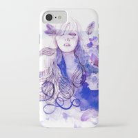 nausicaa iPhone & iPod Cases featuring Nausicaa by Sarah Bochaton