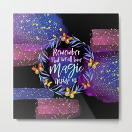 Stars Magic Metal Print