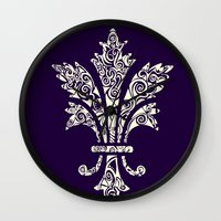 royal Wall Clocks featuring Royal by Candace Fowler Ink&Co.