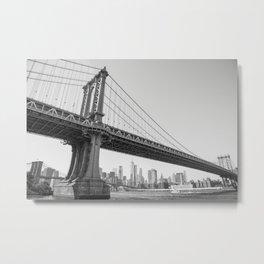 Manhattan Over Manhattan Metal Print