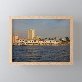 Shoreline in Fort Myers I Framed Mini Art Print