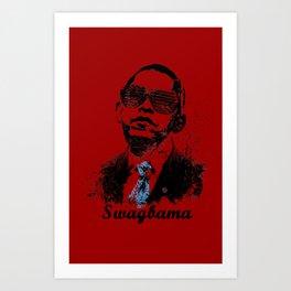 Obama Swag Art Print