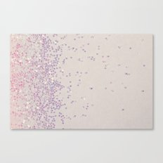 My Favorite Color (NOT REAL GLITTER - photo) Canvas Print