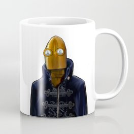 Steampunk Robot Coffee Mug