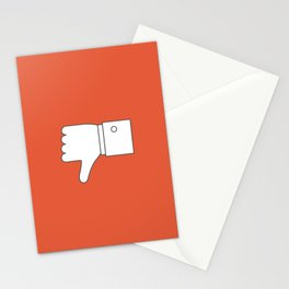 Thumbs down - Influencer Stationery Cards