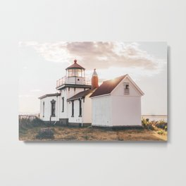 Discovery Park Lighthouse Metal Print