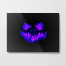 Blue Demon Nightmare Metal Print