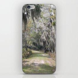Spanish Moss Florida nature trail iPhone Skin