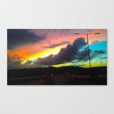 Oceanic Skies Canvas Print