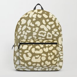 Leopard Beige Pattern Backpack