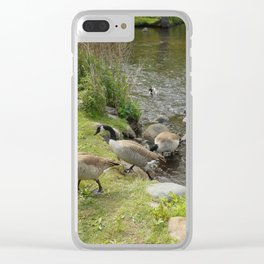 """""""The Pond"""" Clear iPhone Case"""