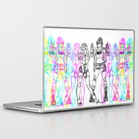 kendrawcandraw Laptop & iPad Skins featuring Girl Gang by kendrawcandraw