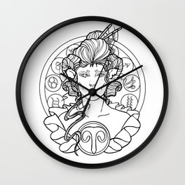 Zodiac Series | Aries Wall Clock