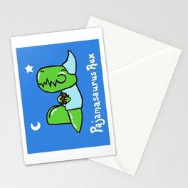 Pajamasaurus Rex Stationery Cards