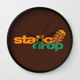 Static drop v6 HQvector Wall Clock